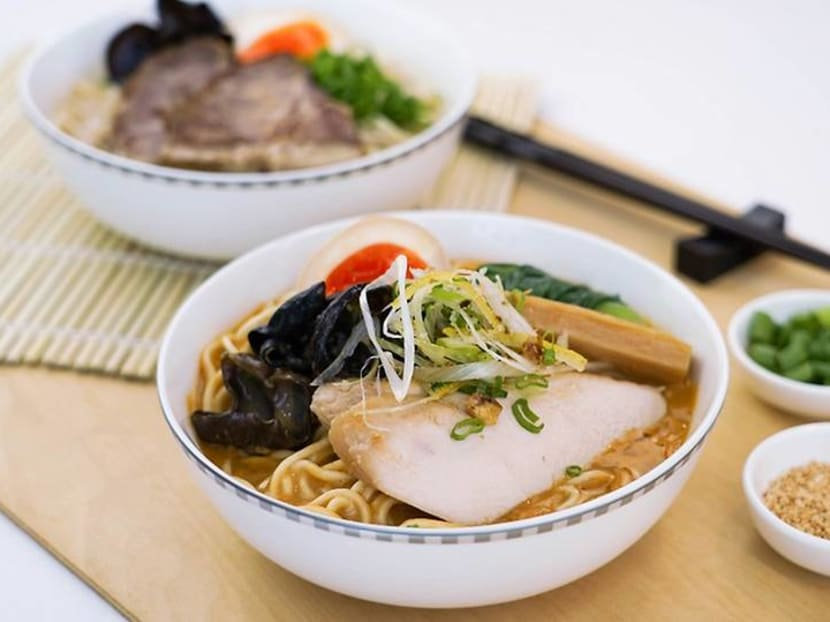 Ramen Keisuke dishes available on selected Singapore Airlines flights from Oct 1