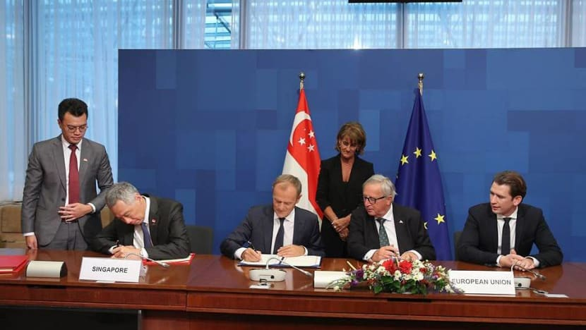 European Parliament approves EU-Singapore free trade, partnership agreements