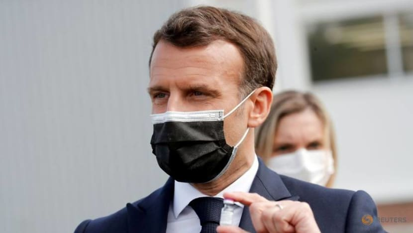 France's Macron sees no immediate need for Russia's COVID-19 shot