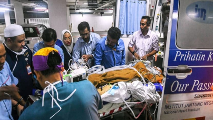 Malaysia temple riot: Injured firefighter critically ill, lung function deteriorating