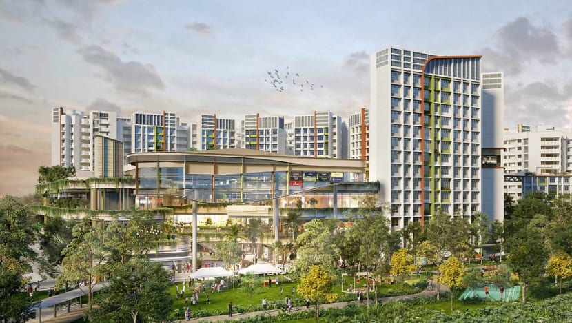 Tengah's Park District to feature Singapore's first 'car-free' town centre, flats to be launched in August