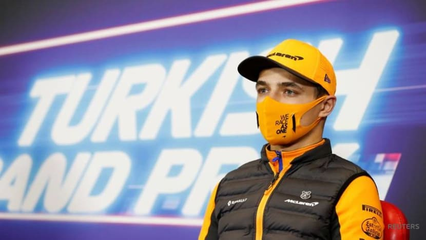 F1 should talk more about mental health, says Norris