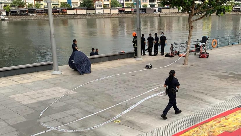 Body found floating in Singapore River