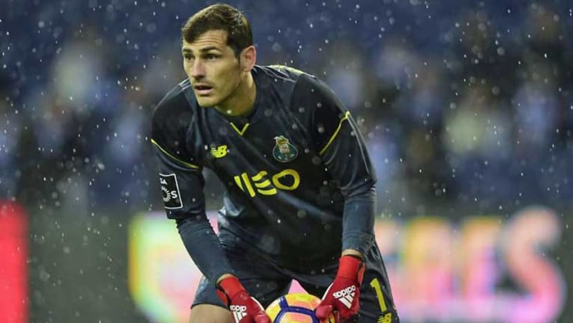 Football: All 'under control' for Casillas after heart attack