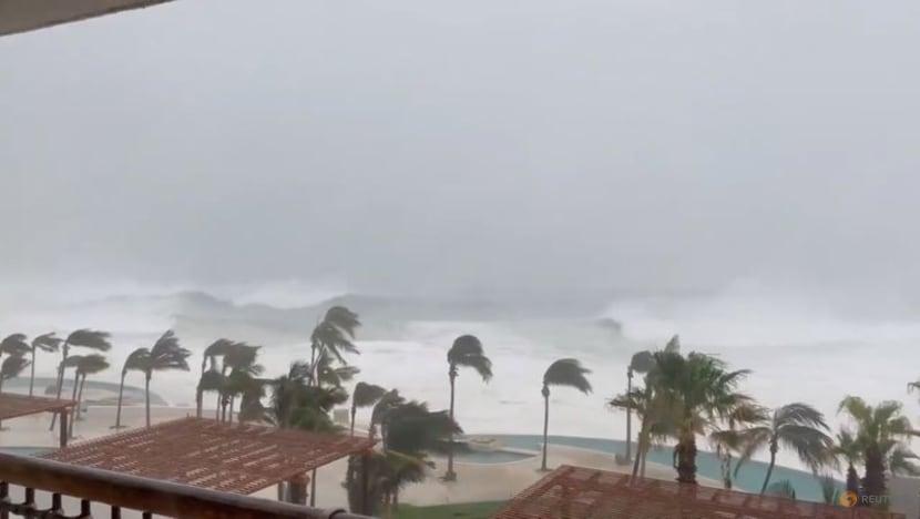 Hurricane Olaf's winds weaken, bringing heavy rains to Mexico's Baja California Sur