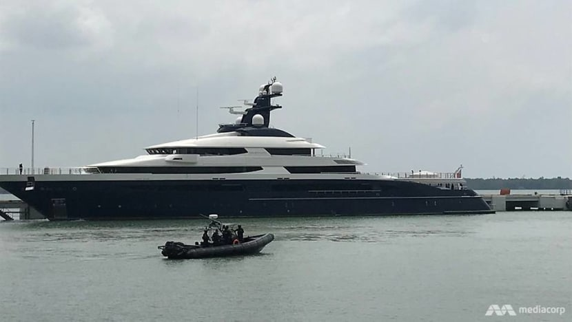 Equanimity, yacht in 1MDB scandal, arrives in Malaysia