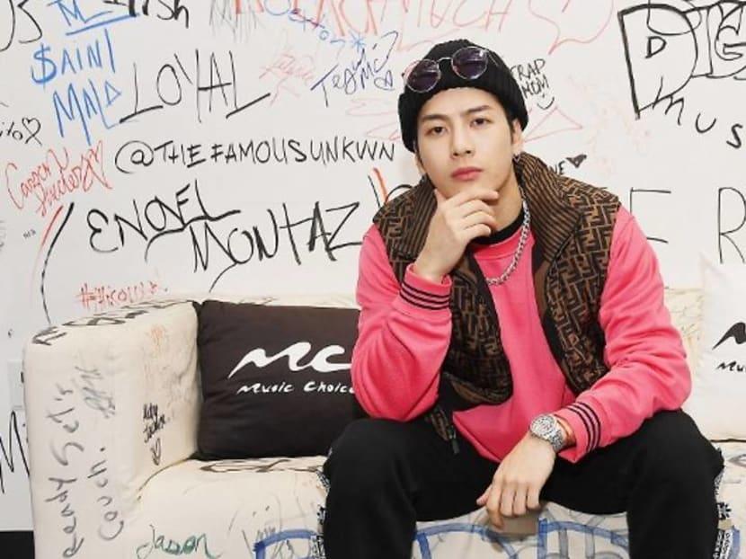 K-pop star Jackson Wang performs latest single on James Corden's late night show