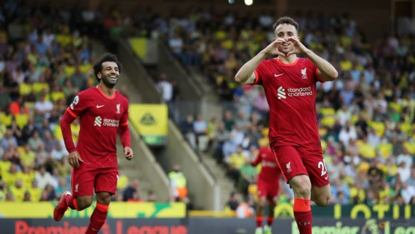 Football: Liverpool cruise past Norwich in opener