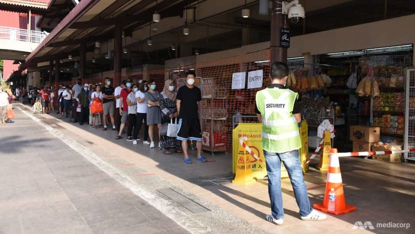 Visits to 4 popular markets to be restricted based on patrons' IC numbers: NEA