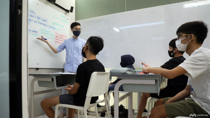 The Big Read: Singapore's endless love affair with private tuition just got deeper with COVID-19