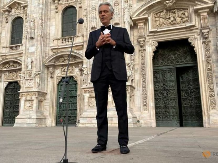 Tenor Bocelli changes his tune, apologises for Covid comments