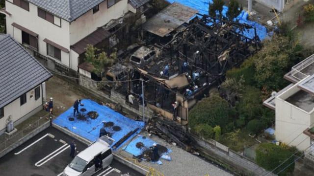 日本男子疑因爱生恨 捅死单恋女孩父母后纵火烧屋