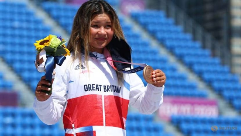 Olympics-Skateboarding-Britain's Brown sets sights on making more waves at Paris Olympics