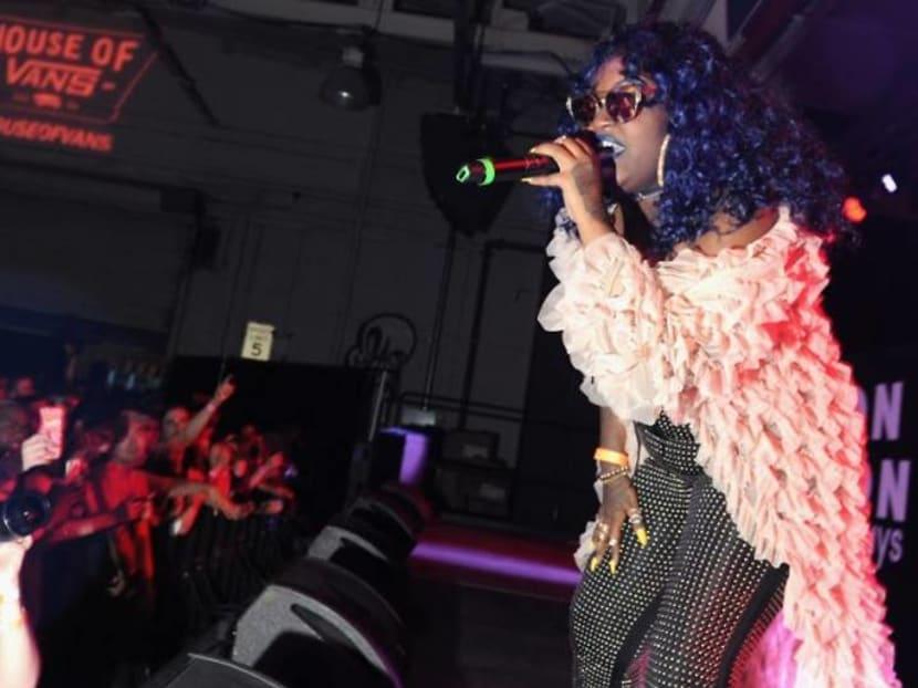 Rapper Cupcakke receives messages of support after suicide tweet
