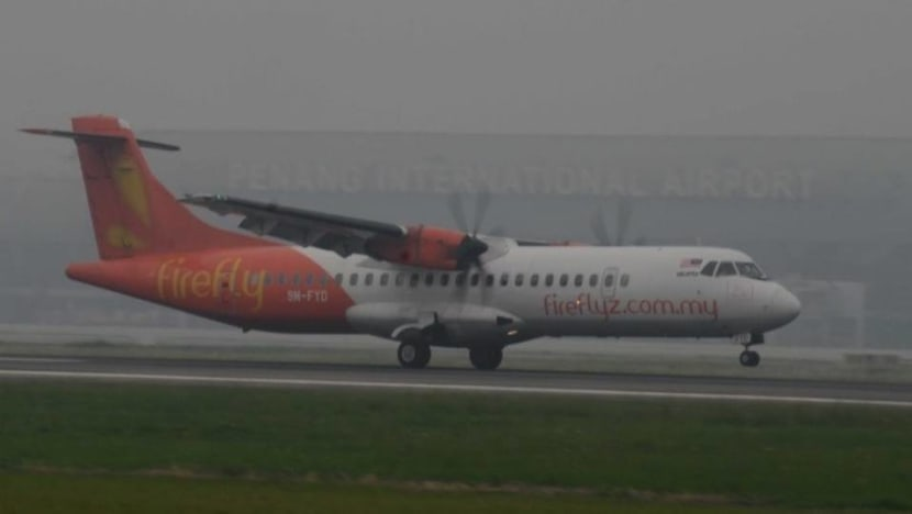 6 Firefly flights between Singapore and Malaysia cancelled due to haze