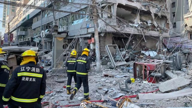 3 killed in gas explosion at restaurant in China's Liaoning