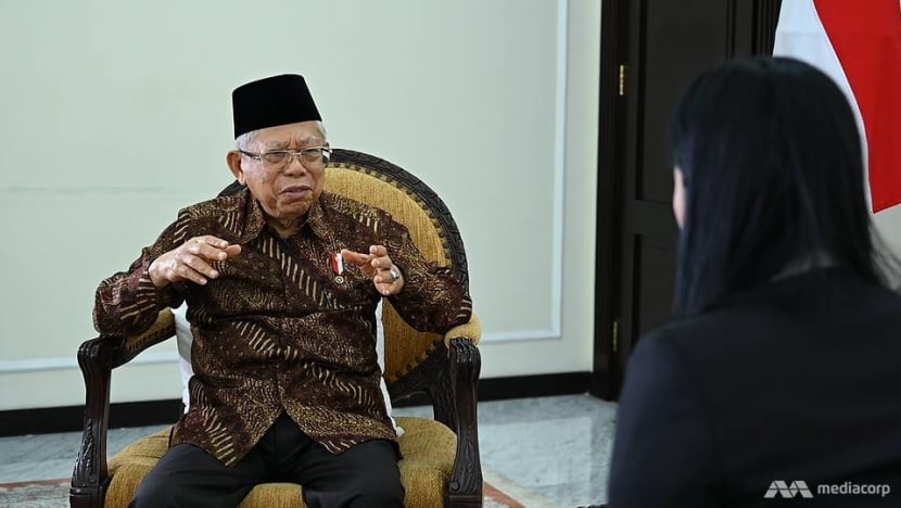 Singapore-Indonesia ties need to be 'continuously strengthened in every aspect': Vice President Ma'ruf Amin