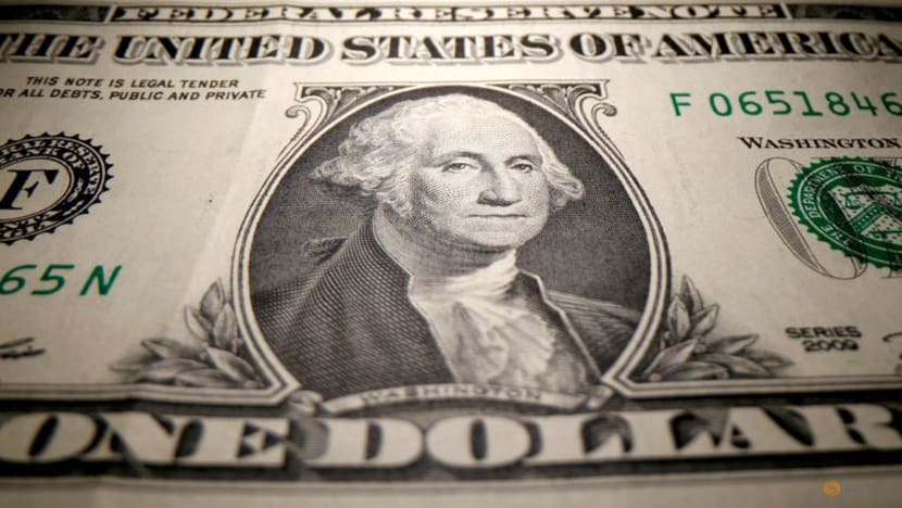 US dollar dips from 4-1/2-month high after Fed minutes, last flat on the day