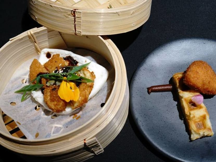 Lab-grown chicken dishes to sell for S$23 at private members' club 1880 next month