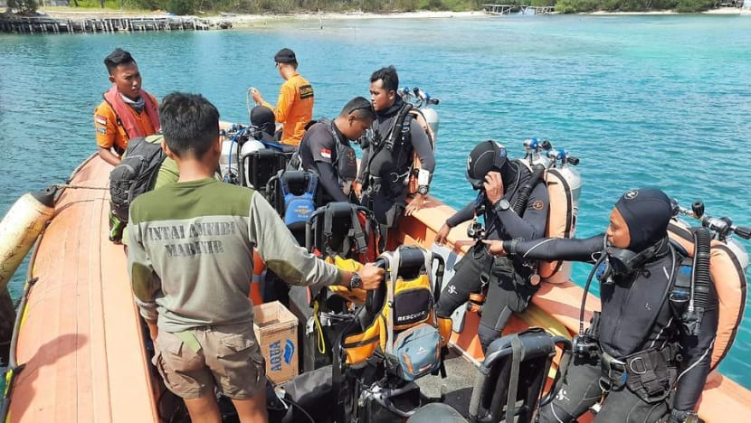 More than 150 rescuers deployed in search for Singaporean diver missing off Indonesia's Java island
