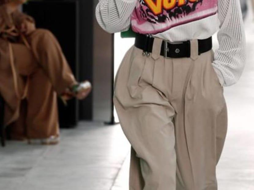 Drive, skate, vote: Vuitton closes Paris Fashion Week with slogans