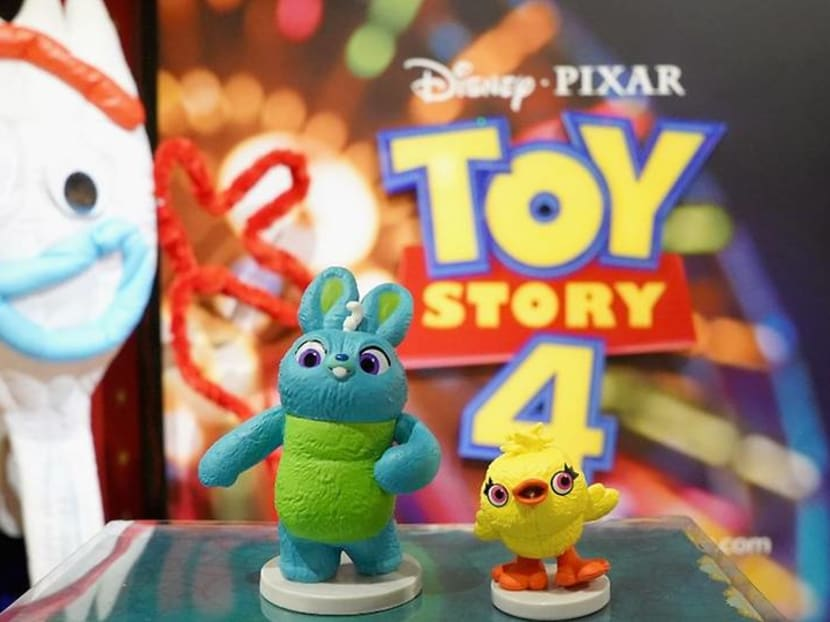 Woody, Buzz and ... a plastic fork: the Toy Story gang grows