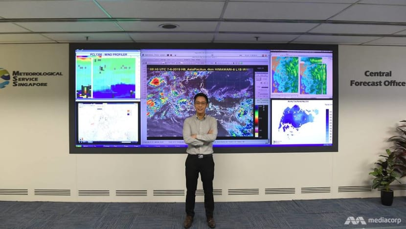 'They ask us if we can make it stop raining or make it rain': Life as a weather forecaster in Singapore