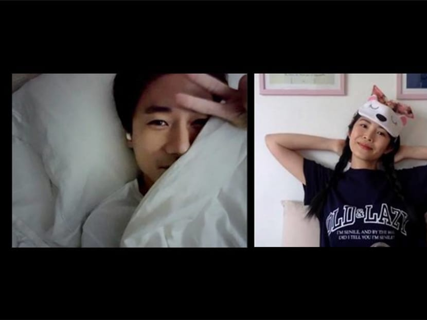 Celebrity Zoom hangout session: In bed with Desmond Tan and his dogs