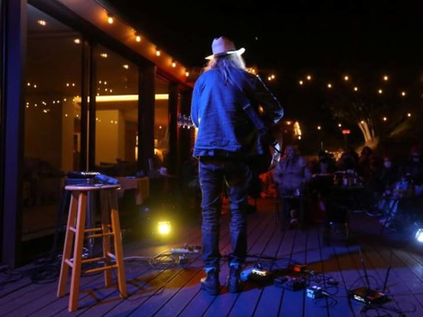 Ordering takeout? Try a live concert at home