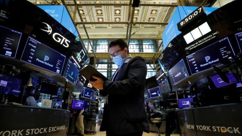 Stocks strengthen; yields, dollar rise on Fed taper talk