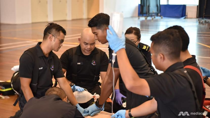 SCDF will no longer take non-emergency patients to hospitals