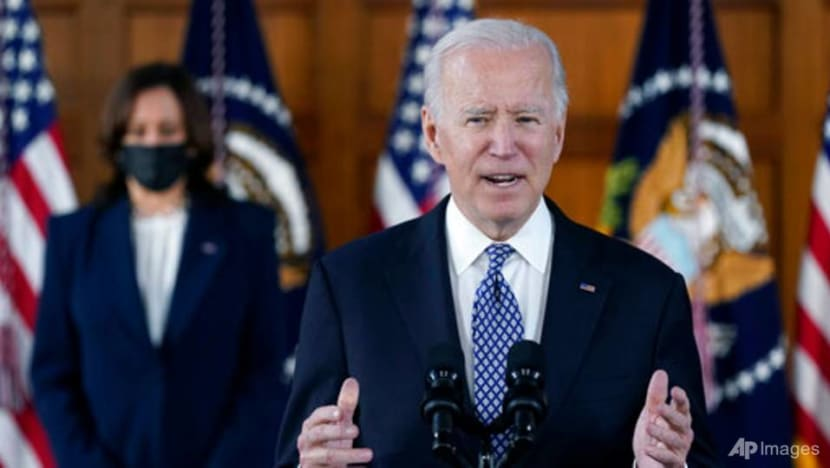 Biden, Harris offer solace to Asian-Americans, denounce racism in Atlanta visit
