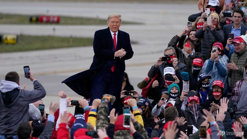 Trump leans into fear tactics in bid to win Midwest states