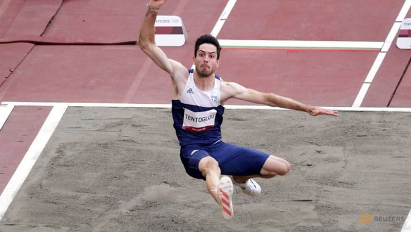 Olympics-Athletics-Greek Tentoglou wins men's long jump gold at Tokyo Games