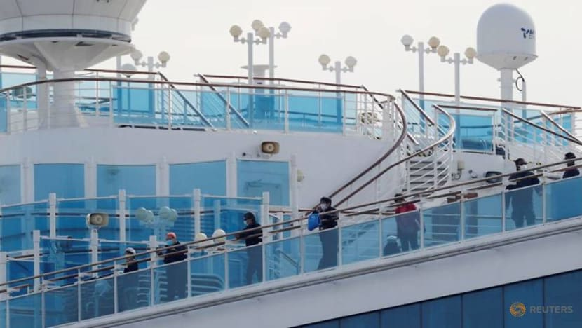 Commentary: Stranded cruise could be helped if Japan had hospital ships