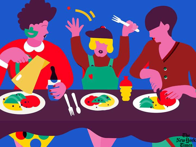 Tips to get your kids to eat healthier during family meals – without bribing them