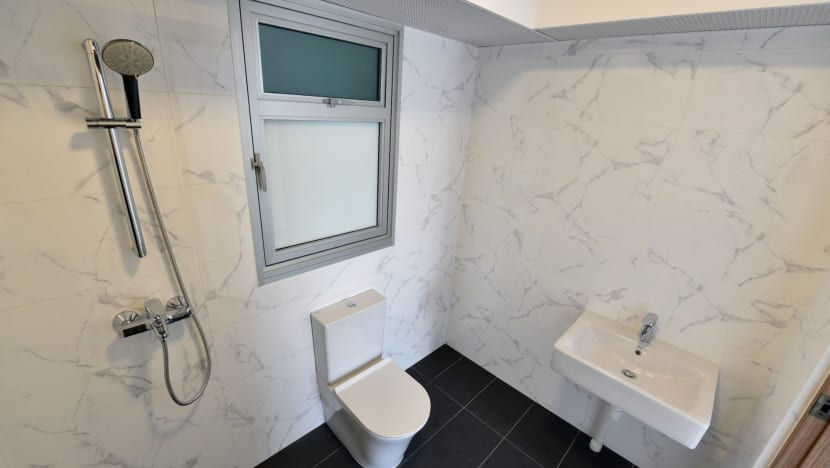 Modern toilets, better tiles among upgrades for new BTO flats