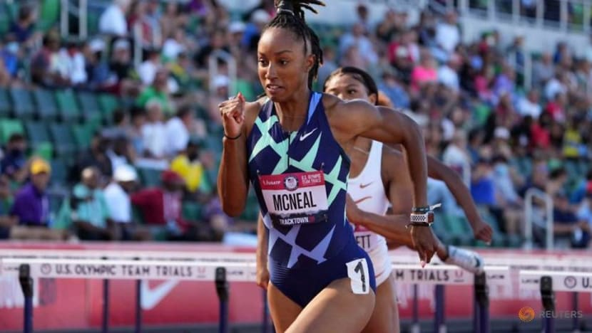 Doping-CAS upholds McNeal's five-year ban, hurdles champ to miss Tokyo Olympics