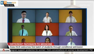Duke-NUS welcomes first batch of students from conditional admissions scheme | Video