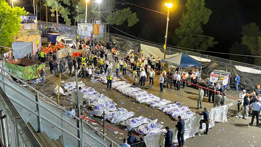 Dozens killed, injured in stampede at Israeli religious festival