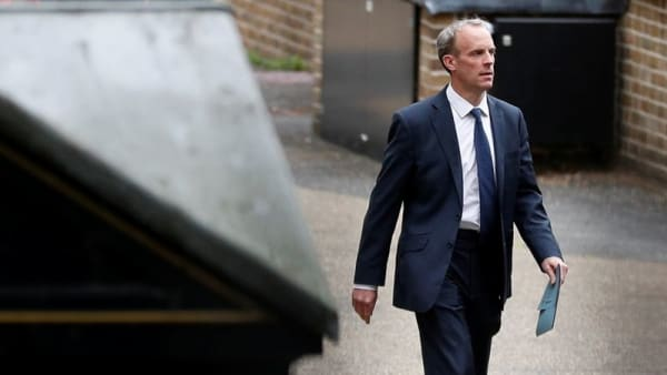 UK says Russia, China needed for 'moderating influence' over Taliban