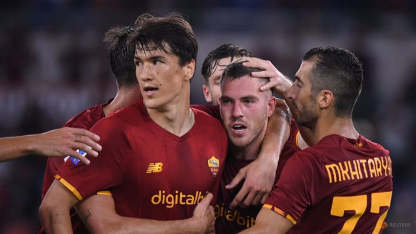 Football: Veretout double helps Roma to get off to winning start under Mourinho
