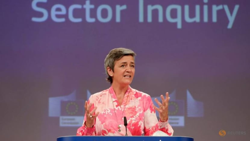 Tech rules not just for a few giants, EU's Vestager says
