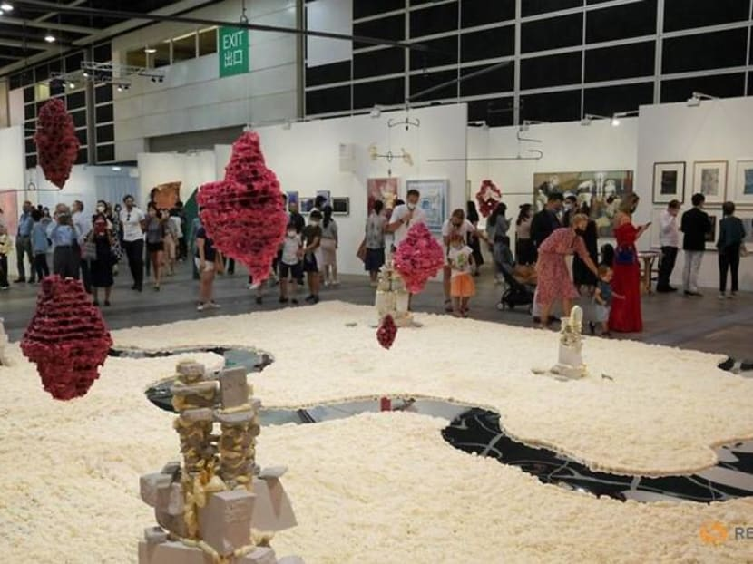 Hong Kong's Art Basel fair opens with physical and virtual shows