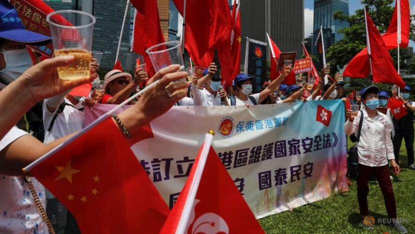 EU 'deplores' Hong Kong law, discussing next steps