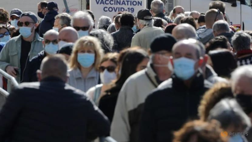 City of Nice opens France's biggest mass COVID-19 vaccination site