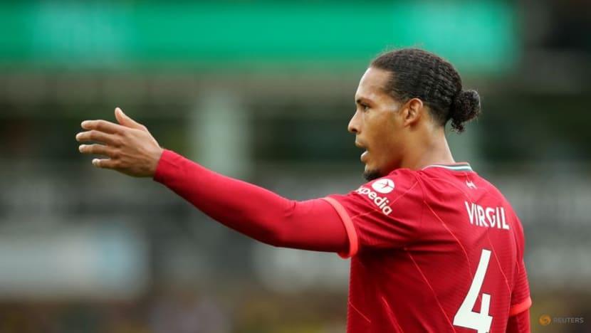 Soccer-Liverpool's Van Dijk relishing Premier League return after 10-month absence