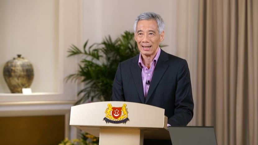 Watch: PM Lee addresses Singapore on COVID-19 situation
