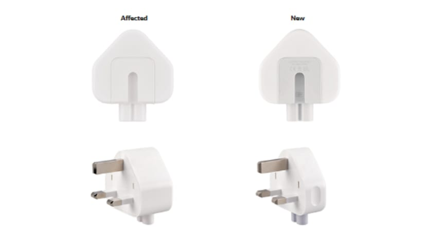 Apple announces recall of some wall plug adapters over 'electrical shock' risk