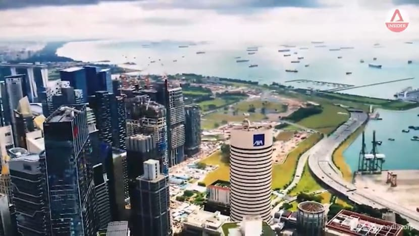In land-scarce Singapore, new spaces for homes on the sea and in the air, possibly